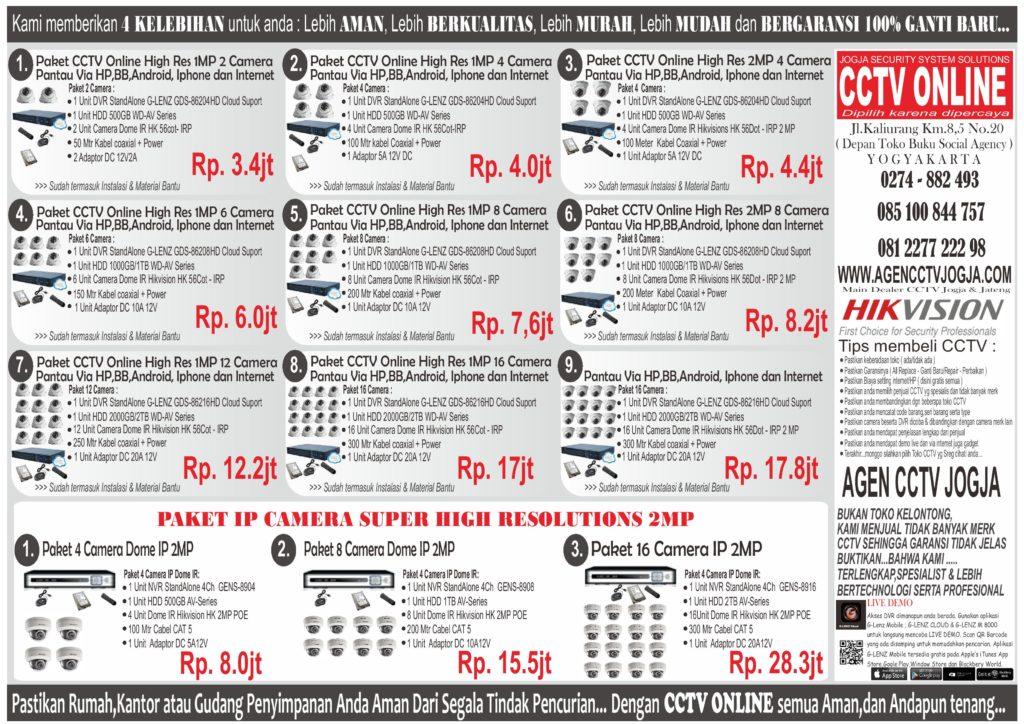 PAKET PROMO CCTV ALL april 2017